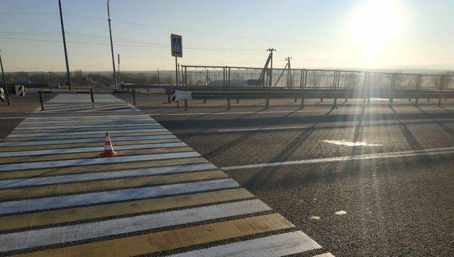 В Крыму водитель иномарки насмерть сбил молодую девушку на переходе