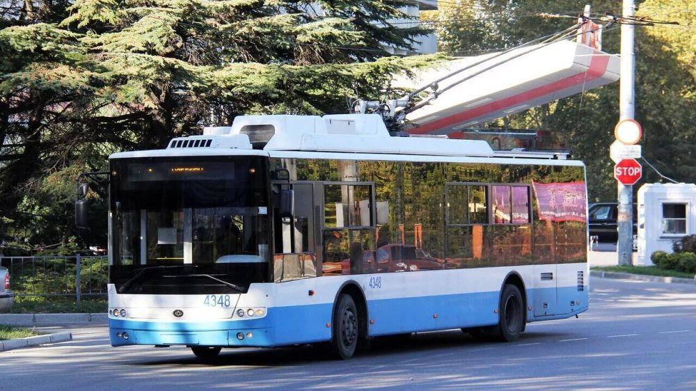 Предприятие ГУП РК «Крымтроллейбус» благодаря нацпроекту повысило производительность труда