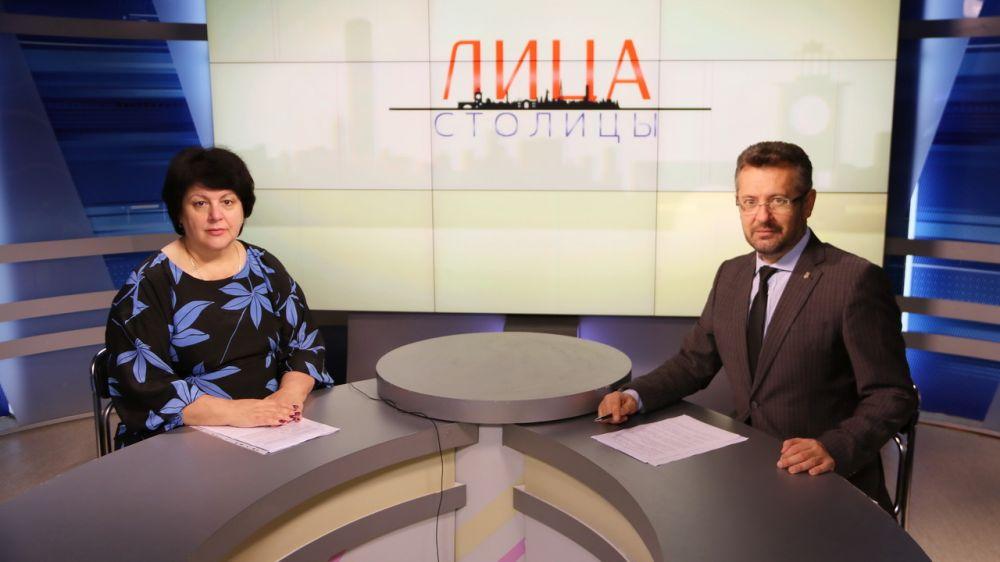Татьяна Сухина – гость программы «Лица столицы»