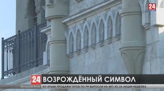 Знаменитый на весь мир замок «Ласточкино гнездо» вновь готов принимать посетителей