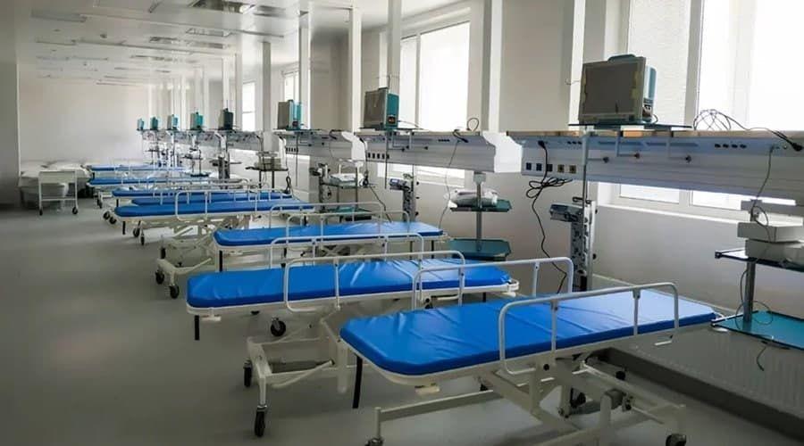 Министр здравоохранения Крыма рассказал о числе свободных коек для больных с COVID-19