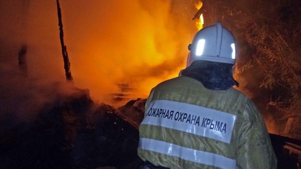 Сергей Шахов: с начала года на территории Республики Крым вследствие пожаров погибло 84 человека