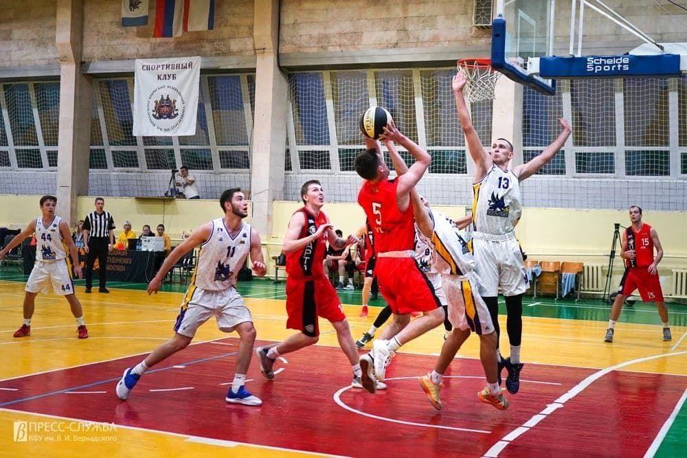 Вскоре в Крыму может появиться первый профессиональный баскетбольный клуб