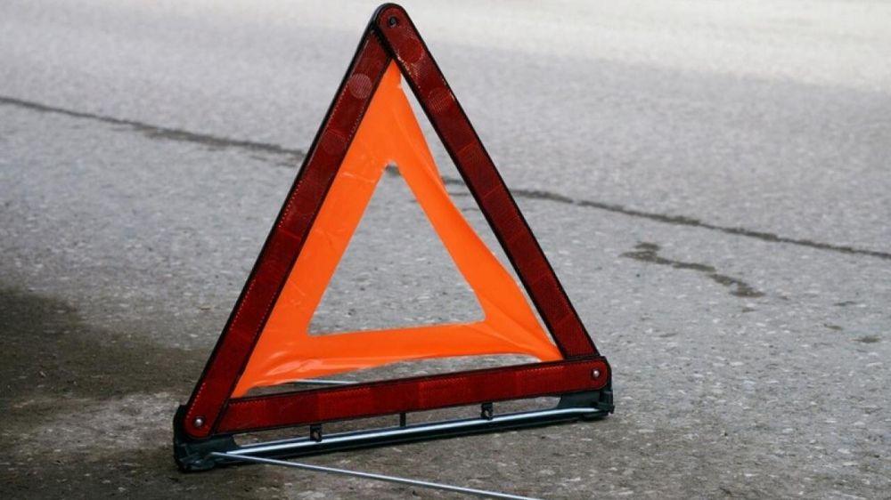 Крымские спасатели ликвидировали последствия ДТП в городском округе Керчь