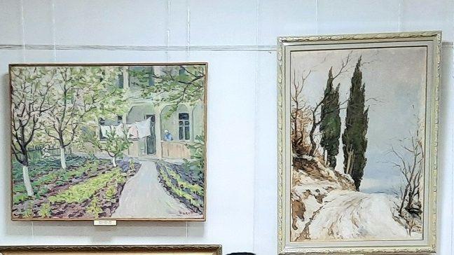Открыта персональная выставка известного крымского художника Якова Басова