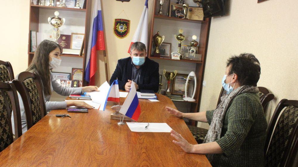 В администрации Сакского района прошло рабочее совещание
