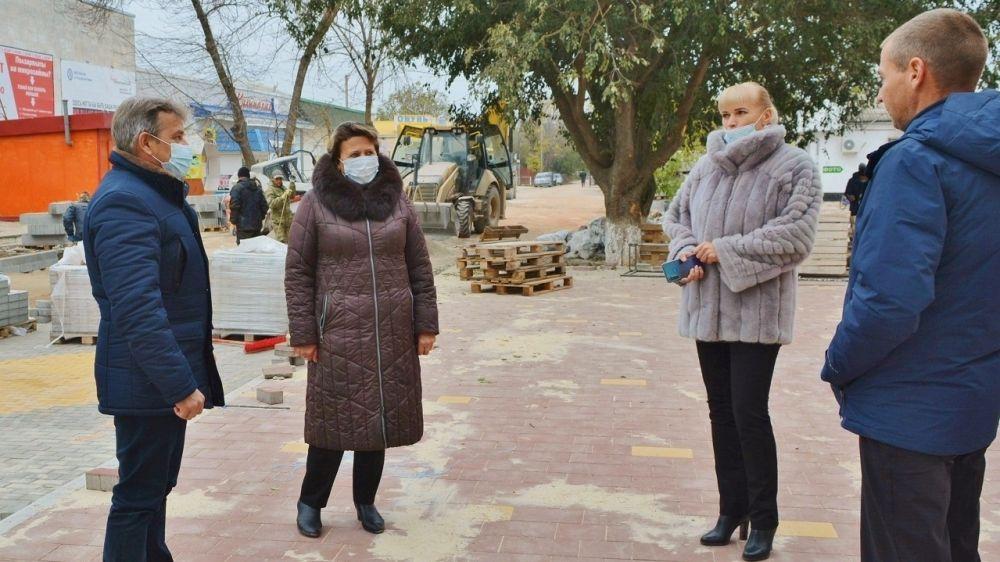 Руководители района провели оперативное совещание по благоустройству центра пгт Первомайское