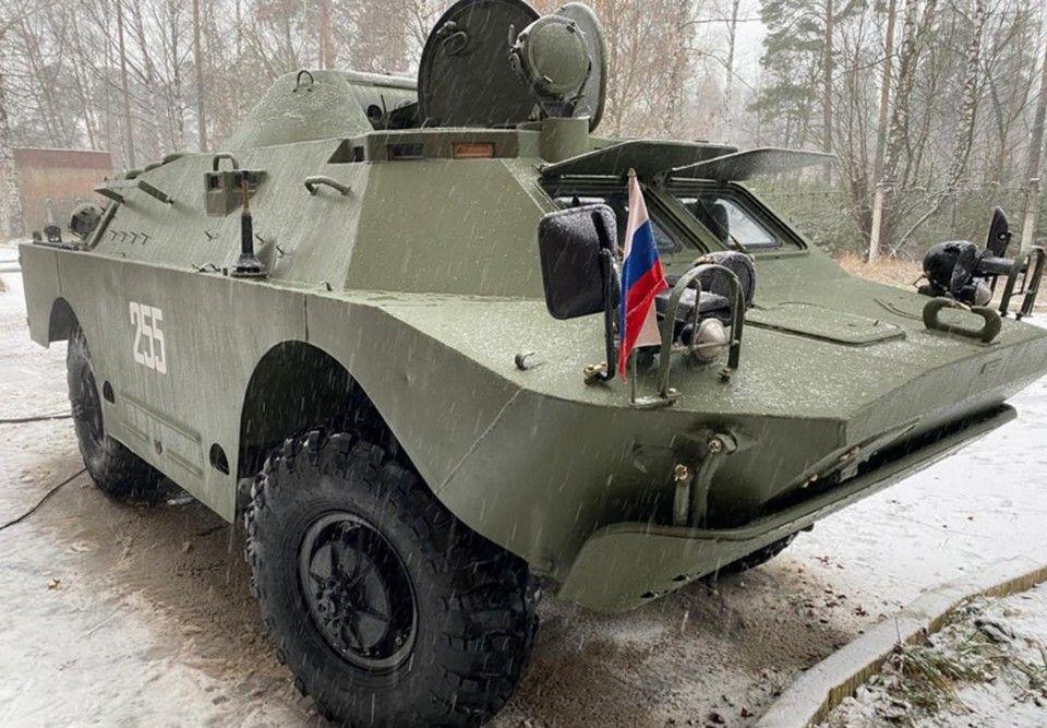 Поднятую со дна Керченского пролива бронемашину удалось восстановить