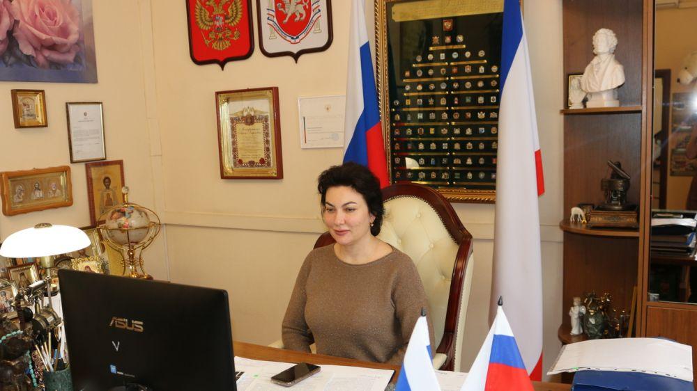 Арина Новосельская приняла участие в совещании о ходе реализации инфраструктурных проектов в Республике Крым