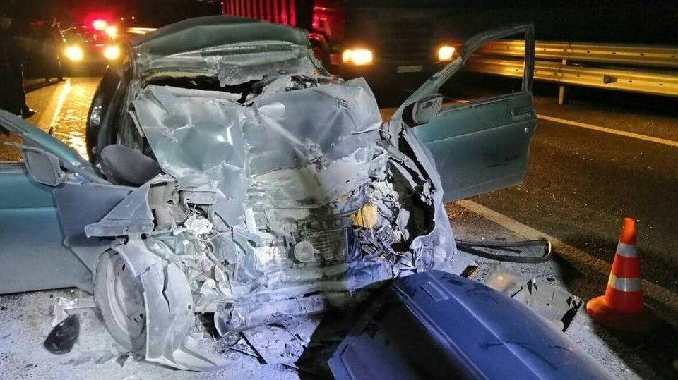 В Белогорском районе на трассе «Таврида» погибло три человека в ДТП