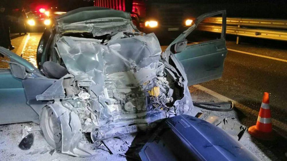 Три человека погибли в ДТП на трассе «Таврида»