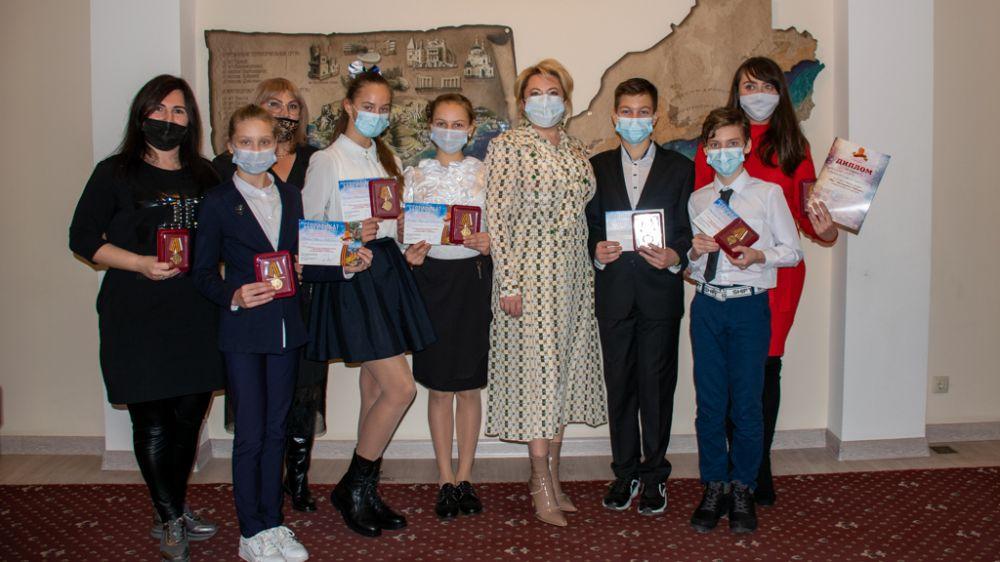 В Ялте наградили призеров межрегионального республиканского творческого конкурса «Мы – наследники Победы!»