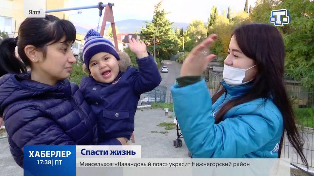 Двухлетнему Мурату Алимову срочно нужна помощь