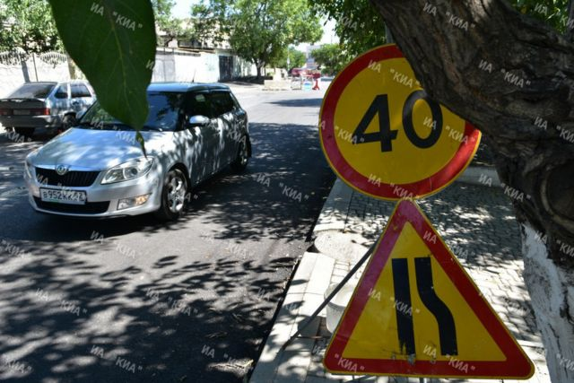Завершены работы по ремонту 20 участков дорог в Симферопольском районе