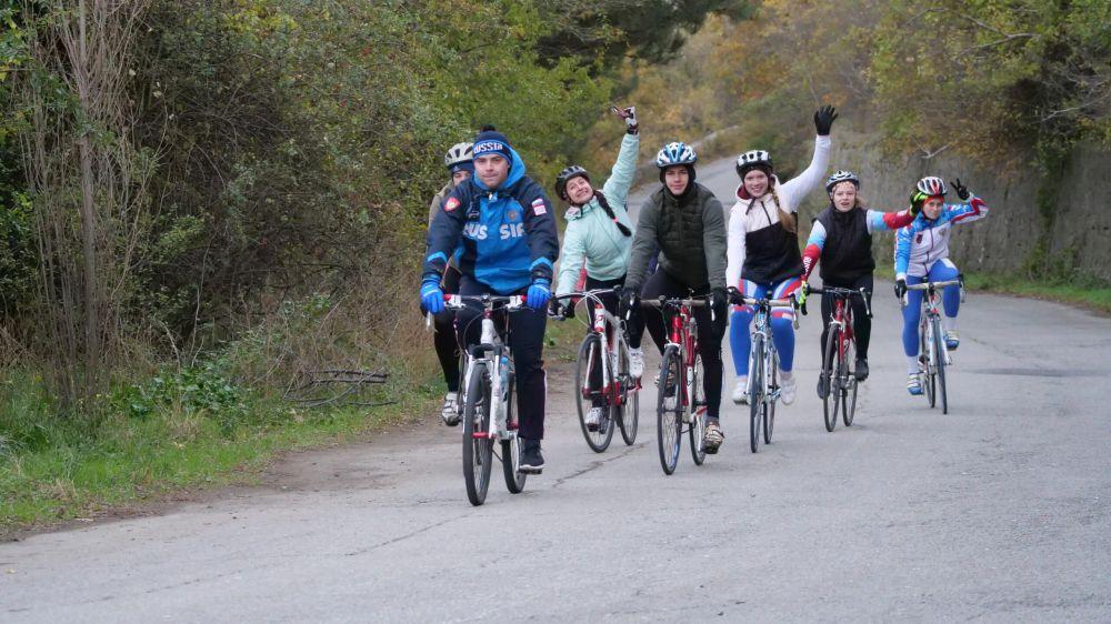 Сборная России по велоспорту в дисциплине ВМХ-race и ВМХ-гонка провела сбор в Алуште