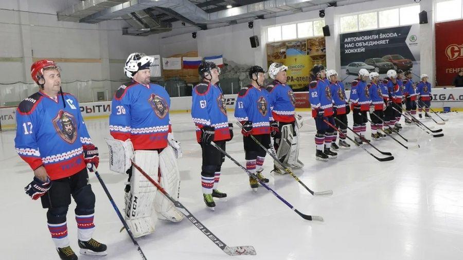 Стартовал новый сезон в Ночной хоккейной лиге в Крыму