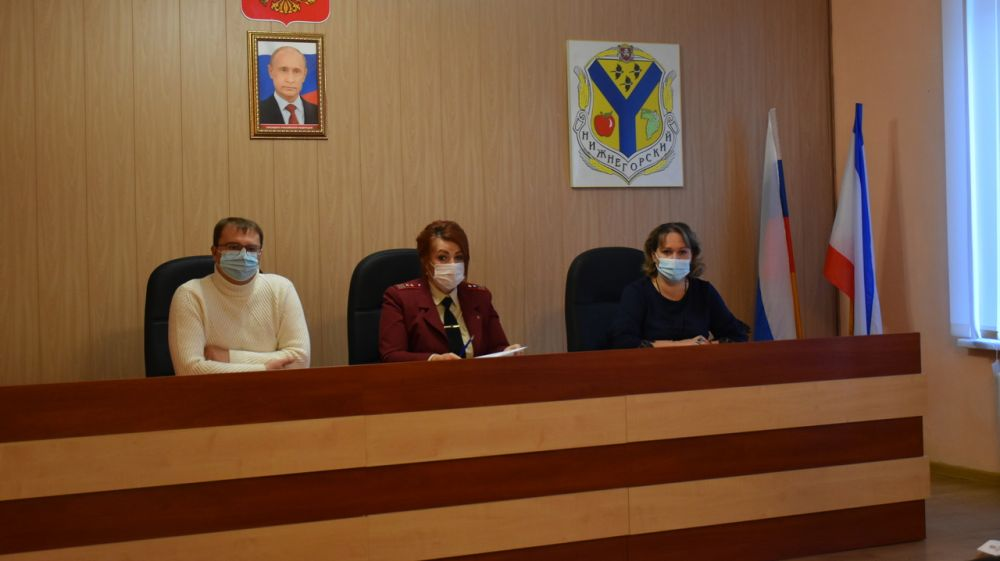 Cостоялось заседание межведомственной санитарно-противоэпидемической комиссии при администрации Нижнегорского района