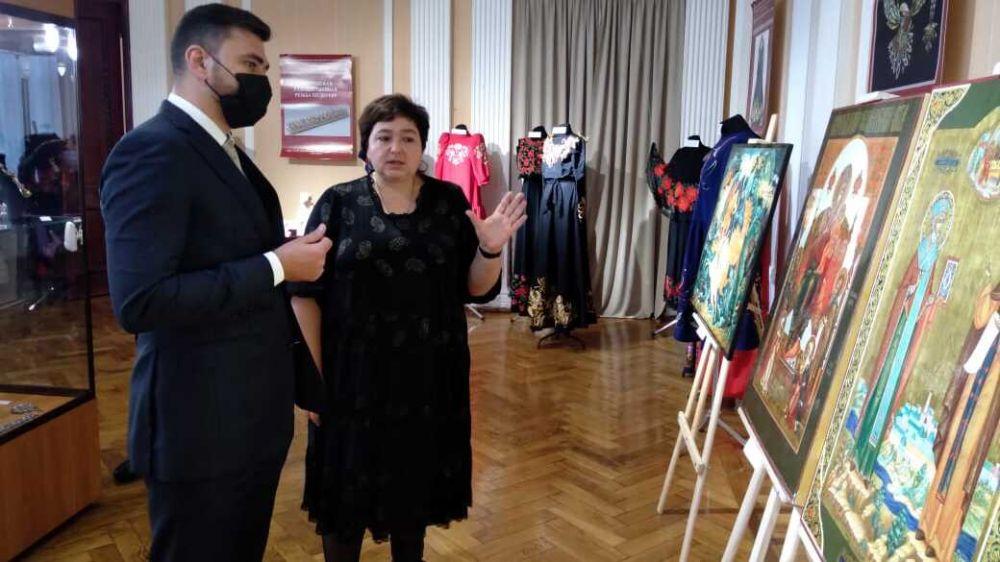Александр Трянов принял участие в открытии выставки «Великолепие художественного наследия России»