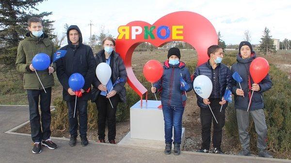 Жизнь в селе Ярком становится ярче: состоялось торжественное открытие парковой зоны после благоустройства