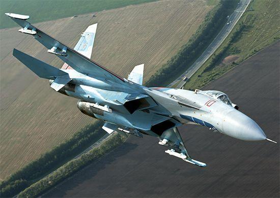 Су-27 снова перехватил американский самолёт-разведчик над Чёрным морем