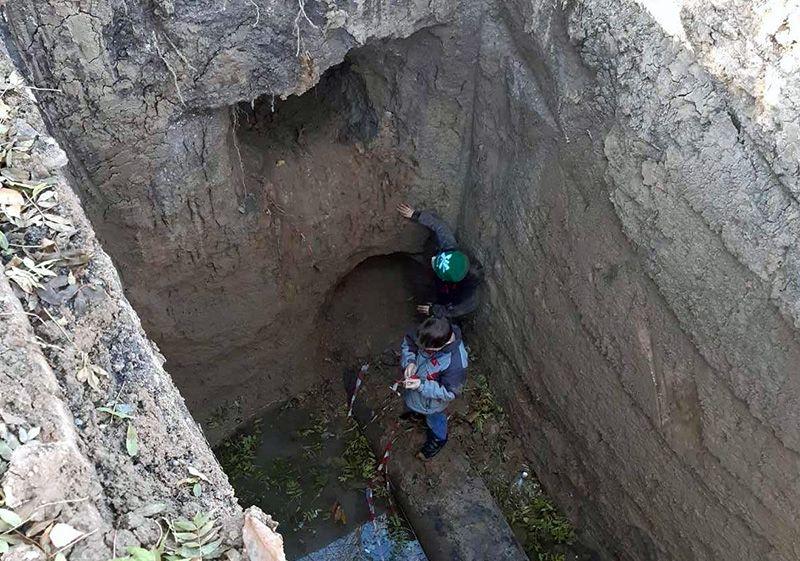 Симферопольские спасатели пришли на помощь мальчишкам, попавшим в ловушку