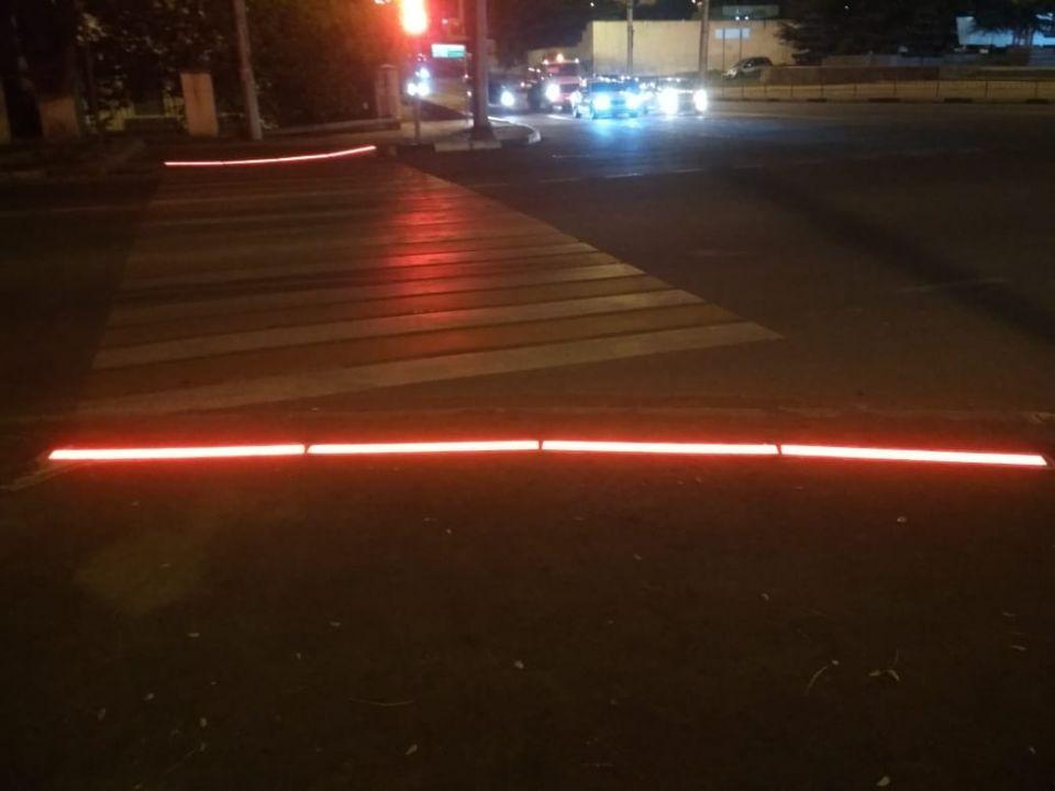 «Лежачий» светофор появился в Севастополе