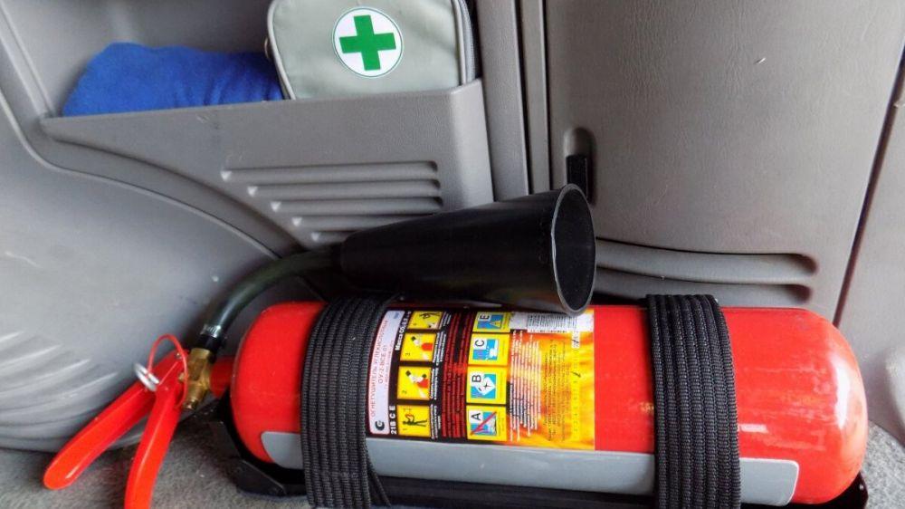 Огнетушитель – полезная нагрузка для вашего автомобиля