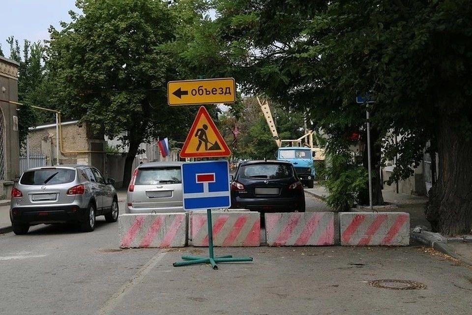 Дорога «Дубки-Левадки» в Симферопольском районе обвалилась из-за оползней