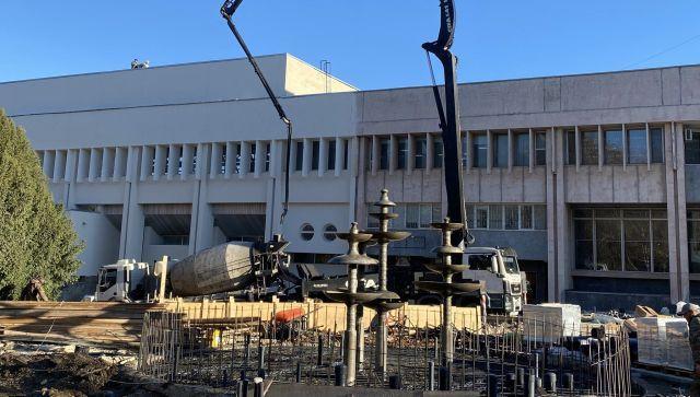 Реконструкция сквера возле ДКП в Симферополе: что уже сделано