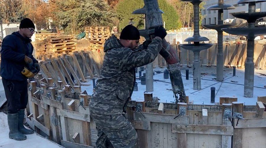 Проценко назвала выполненные виды работ по благоустройству сквера перед ДКП в Симферополе