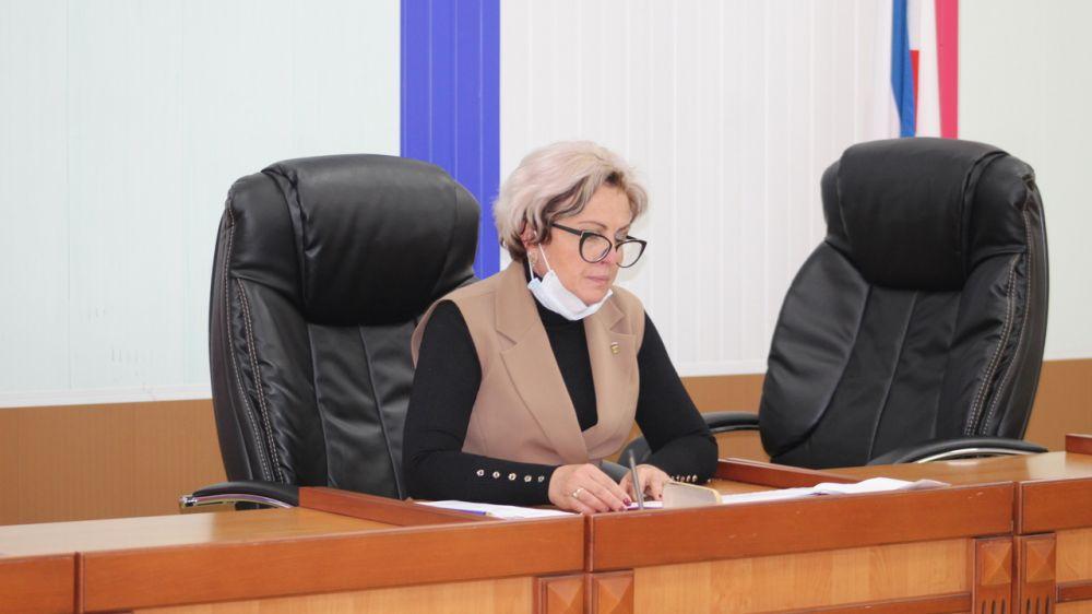 Состоялась очередная сессия Бахчисарайского районного Совета депутатов