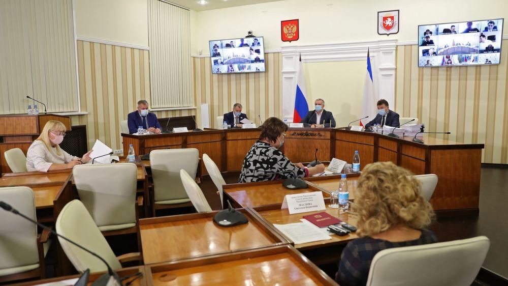 Сергей Аксёнов поручил выверить всю документацию, связанную с выплатами средств подрядчикам в муниципальных образованиях Крыма