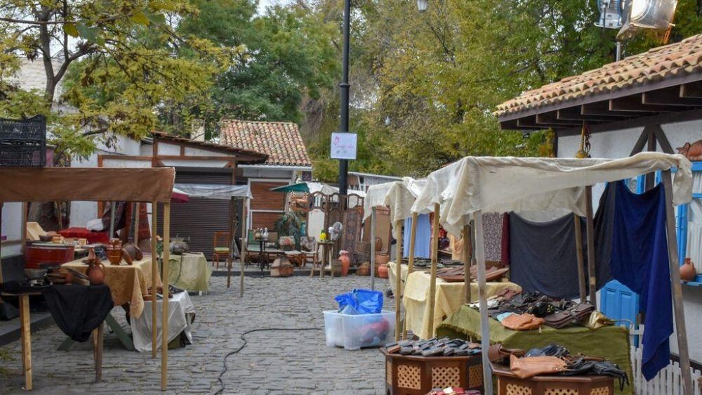 В Евпатории вновь проходят съёмки фильма