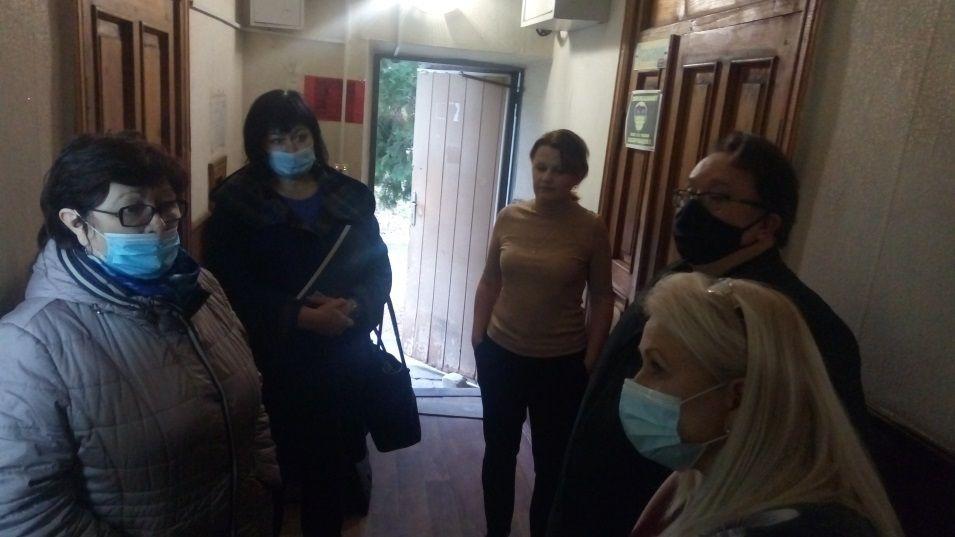 Олег Лобов посетил администрацию Октябрьского сельского поселения Красногвардейского района