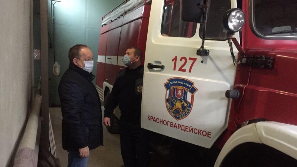 Пожарные подразделения ГКУ РК «Пожарная охрана Республики Крым» к зимнему периоду готовы в полном объеме