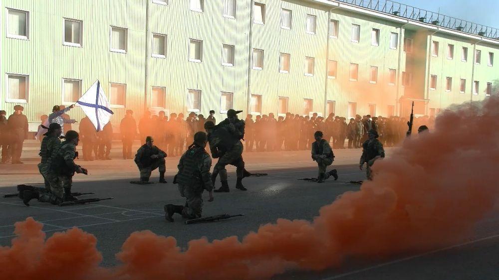 Соединения береговой обороны Черноморского флота отметили День части
