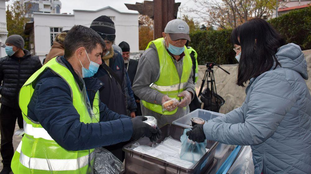 В Ялте ежедневно будут раздавать горячее питание людям, оказавшимся в сложной жизненной ситуации