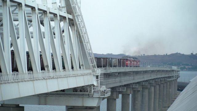 Крымский мост помог увеличить объем ж/д грузооборота с материком