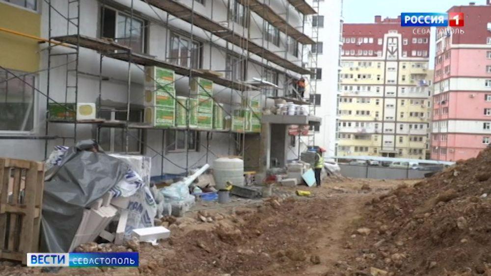 В Севастополе введут в эксплуатацию три проблемных дома