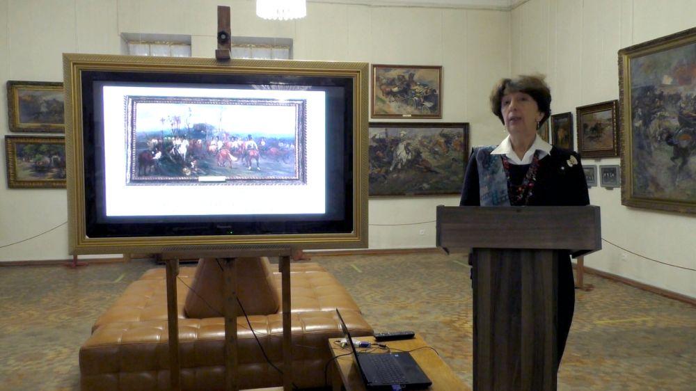 В Симферопольском художественном музее прошел научный онлайн-семинар