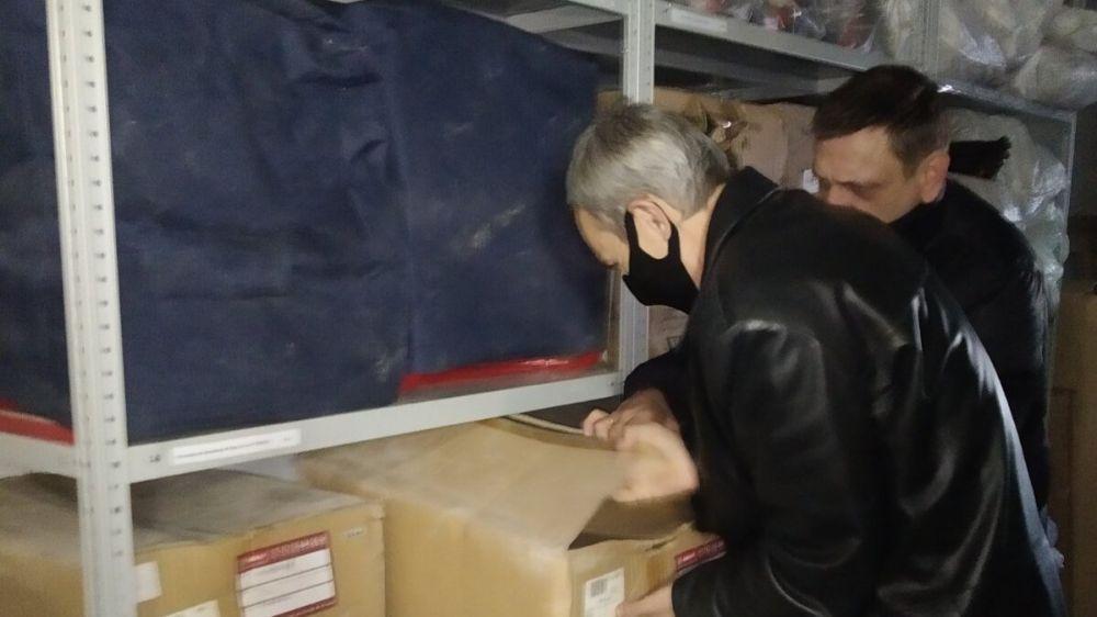 Продолжаются выездные мероприятия для осуществления контроля за работой по накоплению и сохранению объемов материального резерва Республики Крым