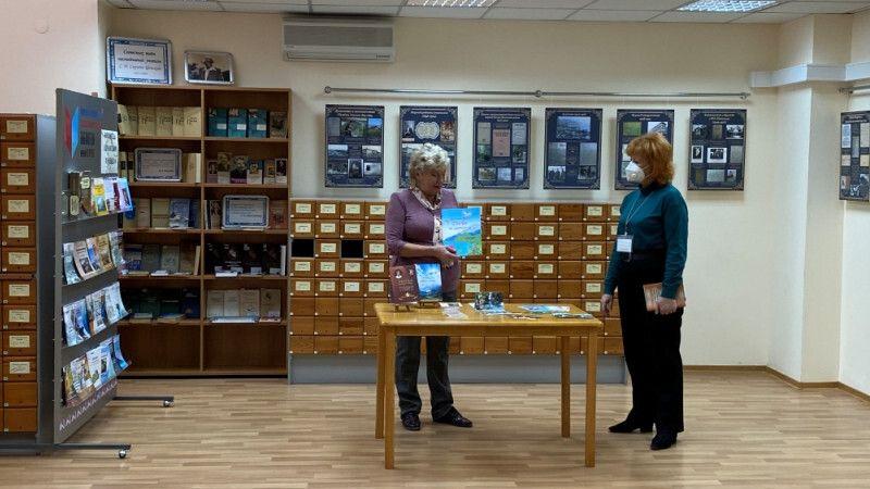 При поддержке Минкульта РК открыта передвижная выставка, посвященная известному писателю, академику Сергею Сергееву-Ценскому