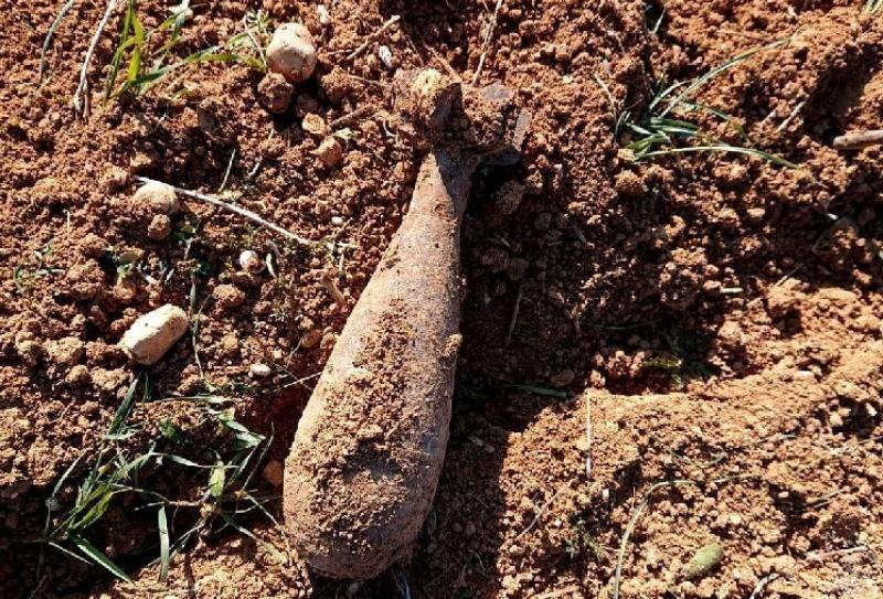 Во время обработки поля под Севастополем тракторист наткнулся на мину