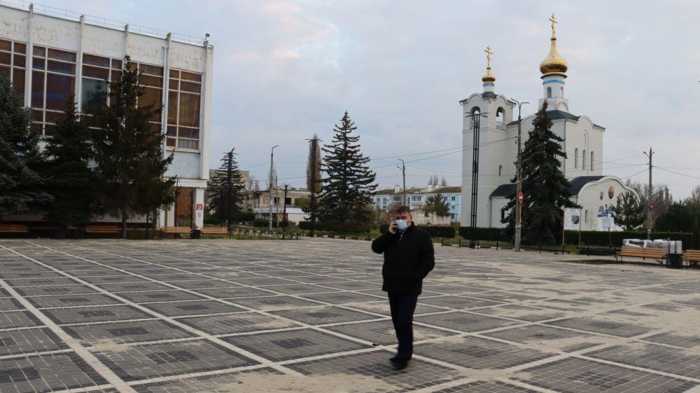 Михаил Слободяник посетил сегодня сёла Фрунзе, Ивановка, Сизовка, где ознакомился с работами на объектах благоустройства и капитального ремонта