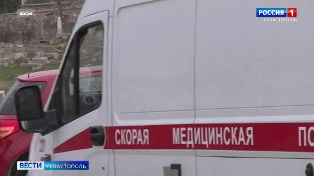 В Симферополе устанавливают модульные пункты бригад скорой помощи