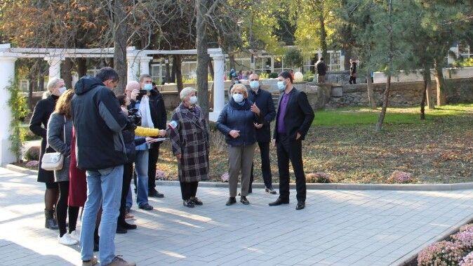 Алушту с рабочим визитом посетил депутат Государственной Думы РФ Андрей Козенко