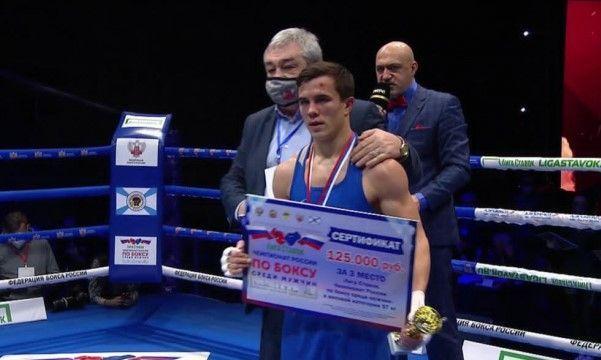 Боксёр из Севастополя взял «бронзу» на чемпионате России