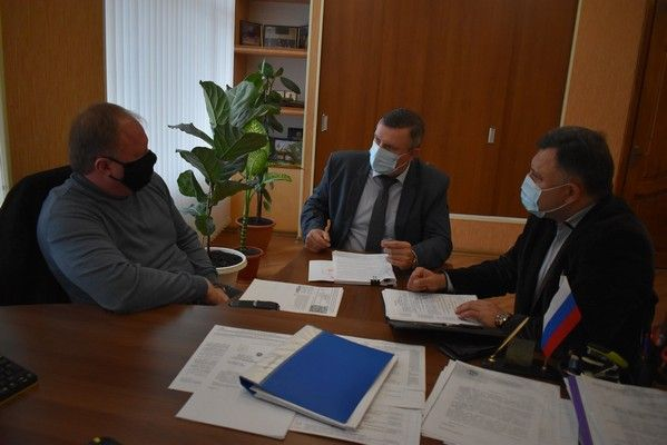 Алексей Черняк провел совещание с руководством города Джанкой