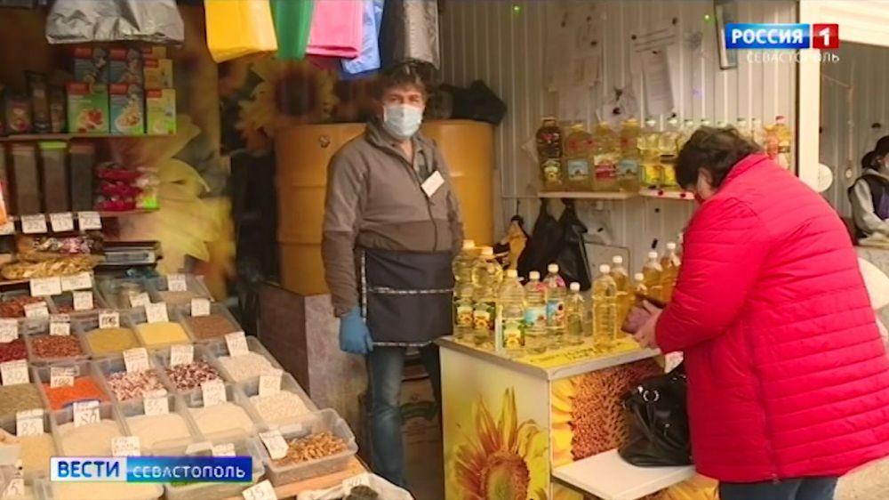 Чем обусловлен рост цен на продукты в Севастополе
