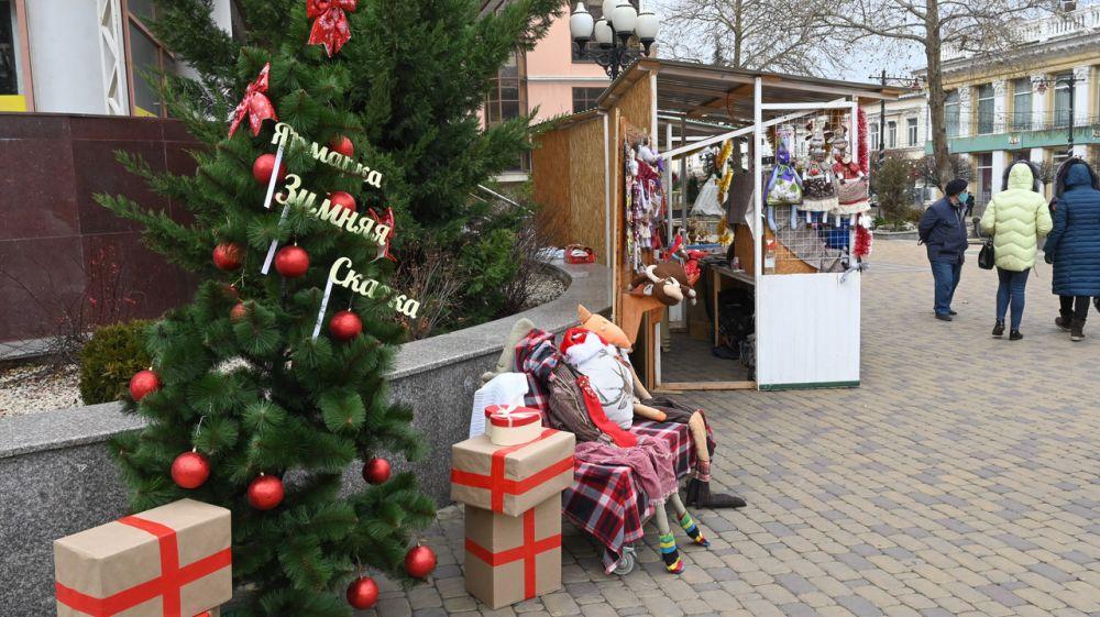 Минэкономразвития РК информирует о проведении в г. Симферополе выставки-ярмарки для ремесленников «Зимняя сказка»